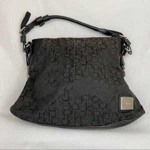 Calvin Klein Monogram Hobo Bag